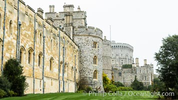 Windsor Castle. Windsor Castle, London, United Kingdom, natural history stock photograph, photo id 28292