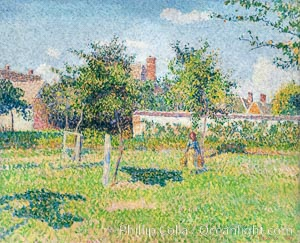Woman in the Orchard, Camille Pissarro, Musee d'Orsay, Paris, Musee dOrsay