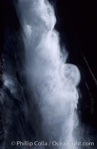 Upper Yosemite Falls. Yosemite Falls, Yosemite National Park, California, USA, natural history stock photograph, photo id 05466