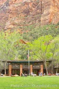 The Zion Lodge, Zion National Park, Utah