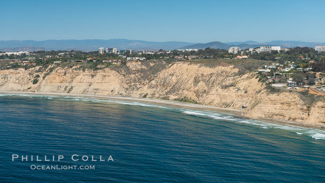Image 30629, Aerial Photo of San Diego Scripps Coastal SMCA. Blacks Beach and Torrey Pines State Reserve. La Jolla, California, USA, Phillip Colla, all rights reserved worldwide. Keywords: above, aerial, aerial photo, aerial photograph, aloft, california, coast, lighthawk, marine, marine protected area, mpa, ocean, outdoors, outside, san diego, san diego scripps coastal marine conservation area, scene, scenery, scenic, usa.