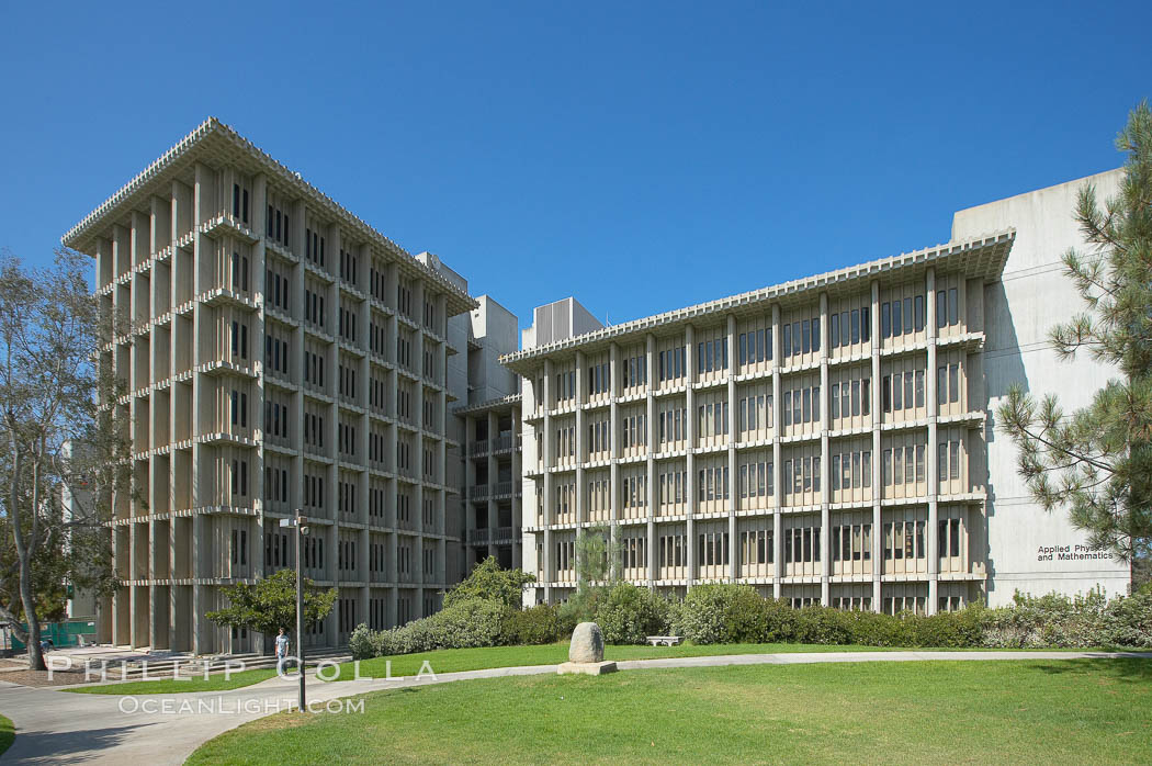 Applied Physics and Mathematics Building (AP and M), Muir College, University of California San Diego (UCSD). University of California, San Diego, La Jolla, USA, natural history stock photograph, photo id 21229
