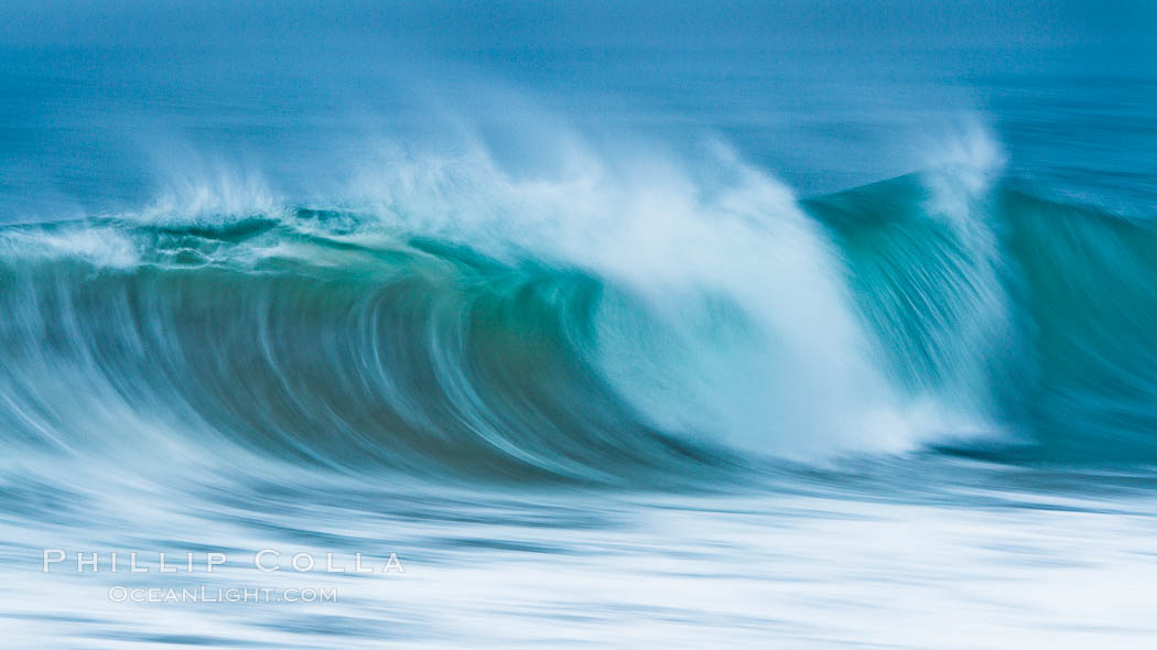 Breaking wave fast motion and blur. The Wedge. The Wedge, Newport Beach, California, USA, natural history stock photograph, photo id 27080