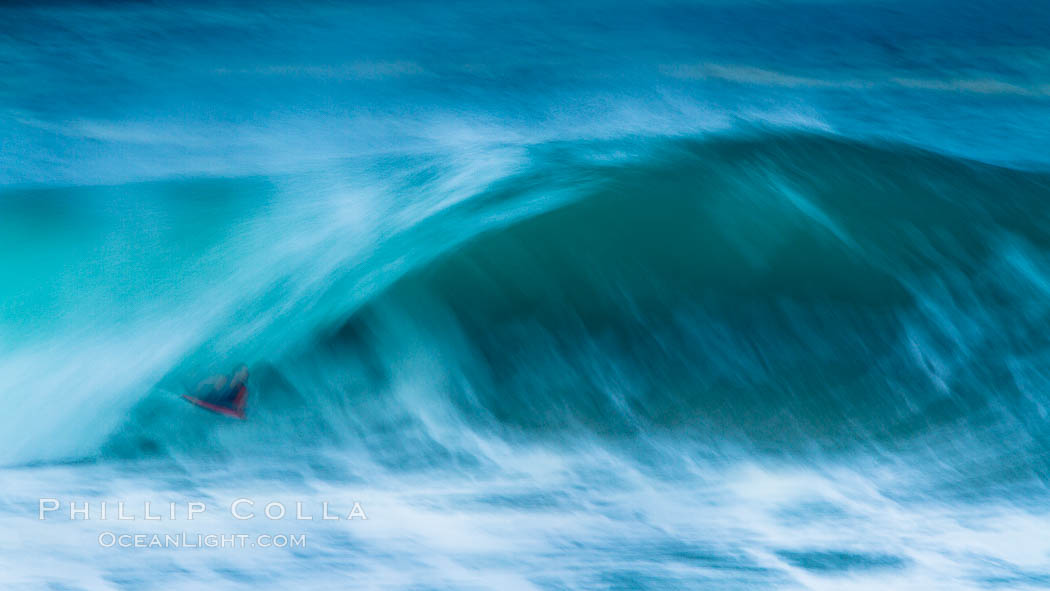 Breaking wave fast motion and blur. The Wedge. The Wedge, Newport Beach, California, USA, natural history stock photograph, photo id 27084
