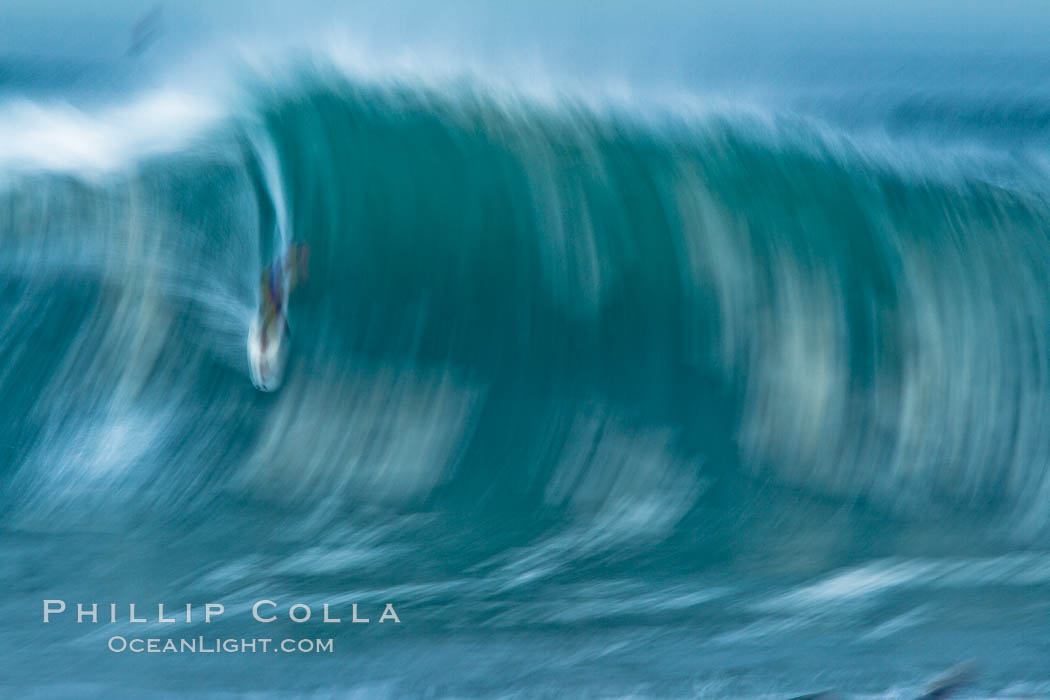 Breaking wave fast motion and blur. The Wedge. The Wedge, Newport Beach, California, USA, natural history stock photograph, photo id 27075