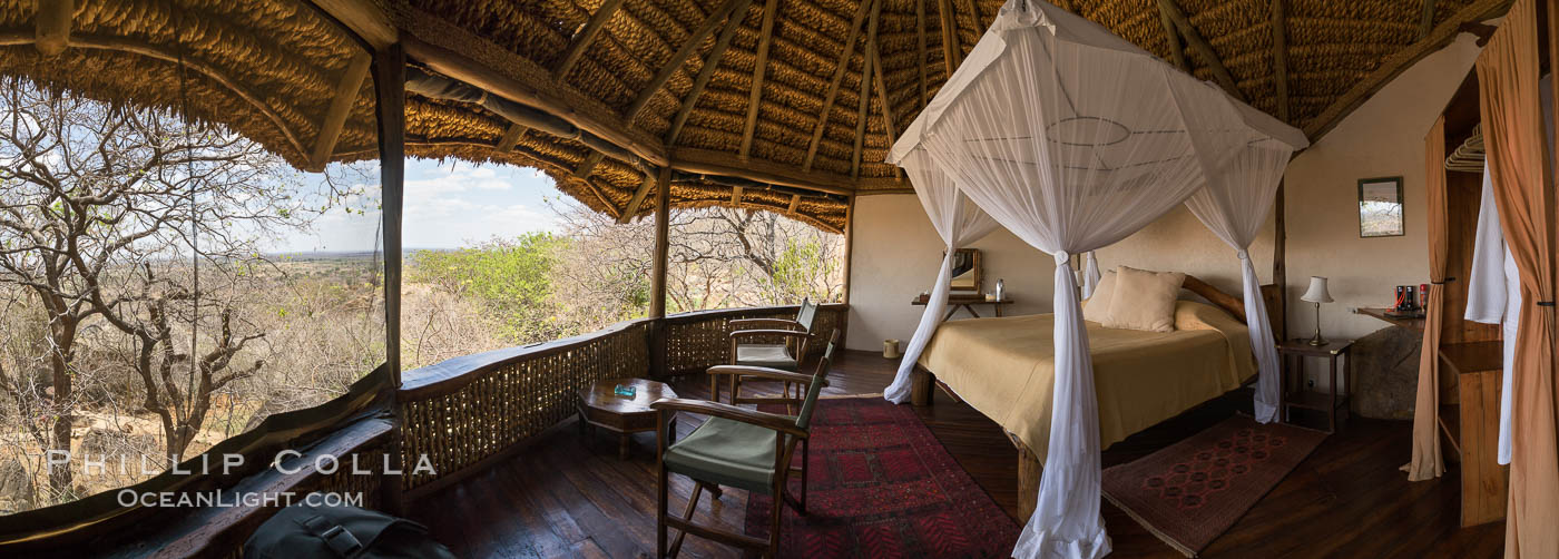 Elsa's Kopje, Luxury Safari Lodge, Meru National Park, Kenya., natural history stock photograph, photo id 29610