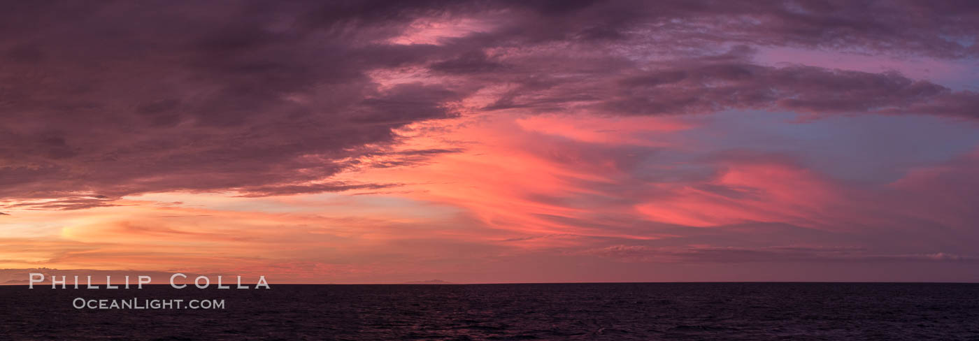 Fijian Sunset, South Pacific Sunset., natural history stock photograph, photo id 31857