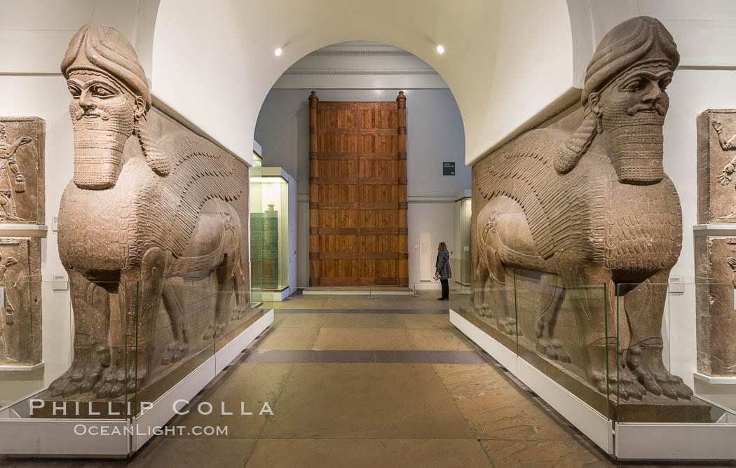 Inside the British Museum. British Museum, London, United Kingdom, natural history stock photograph, photo id 28316
