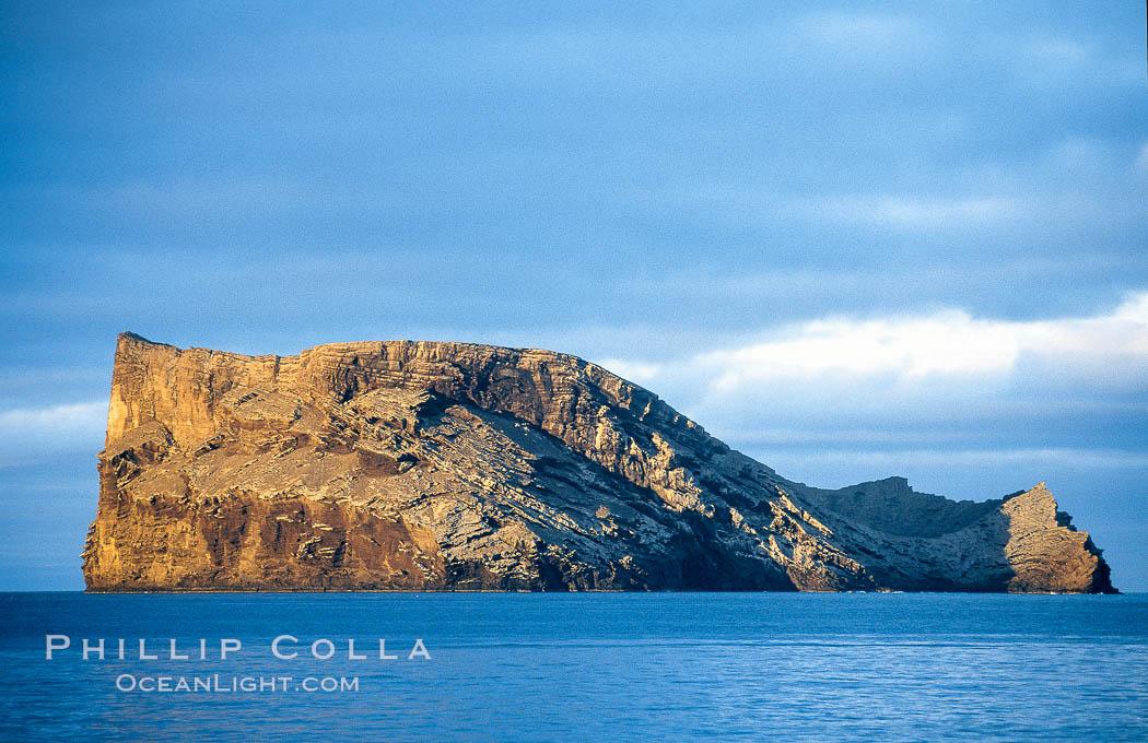 Isla Afuera, Guadalupe Island, daybreak. Guadalupe Island (Isla Guadalupe), Baja California, Mexico, natural history stock photograph, photo id 03698