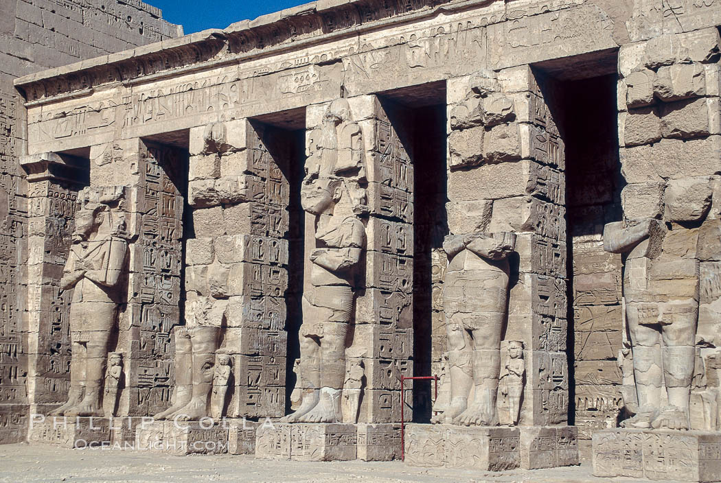 Karnak Temple. Luxor, Egypt, natural history stock photograph, photo id 02596