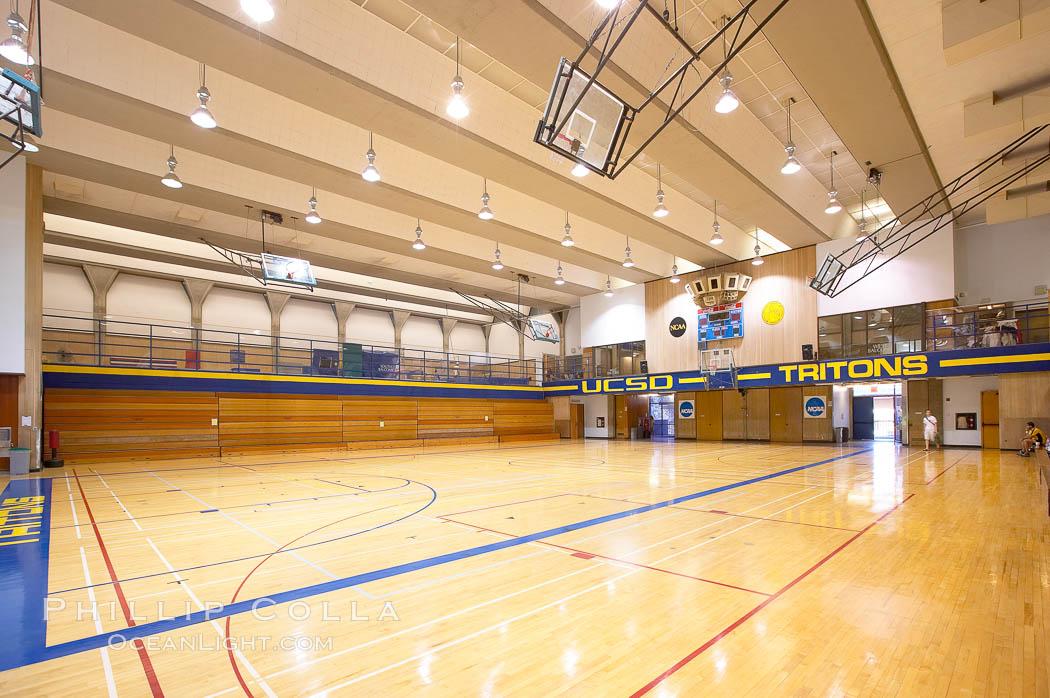 Main Gymnasium, University of California San Diego (UCSD). University of California, San Diego, La Jolla, California, USA, natural history stock photograph, photo id 21227