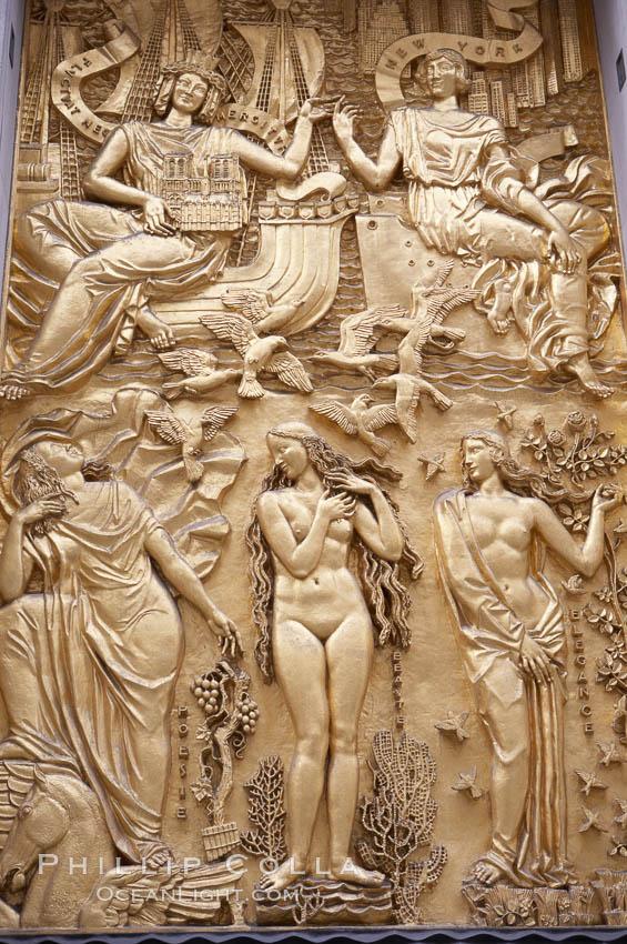 Image 11170, Artwork, Rockerfeller Center. Manhattan, New York City, New York, USA, Phillip Colla, all rights reserved worldwide. Keywords: big apple, city, details, manhattan, new york, new york city, urban, usa.