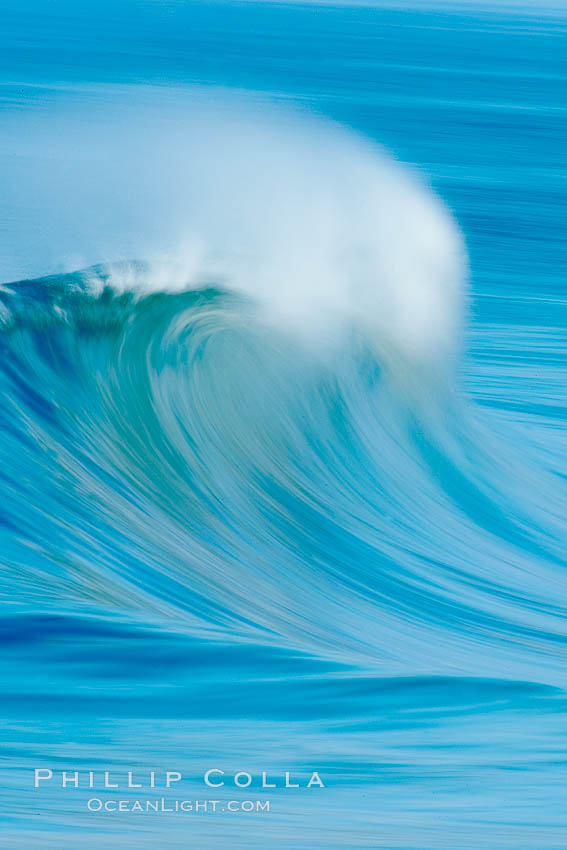 Breaking wave, fast motion and blur. The Wedge. The Wedge, Newport Beach, California, USA, natural history stock photograph, photo id 14356