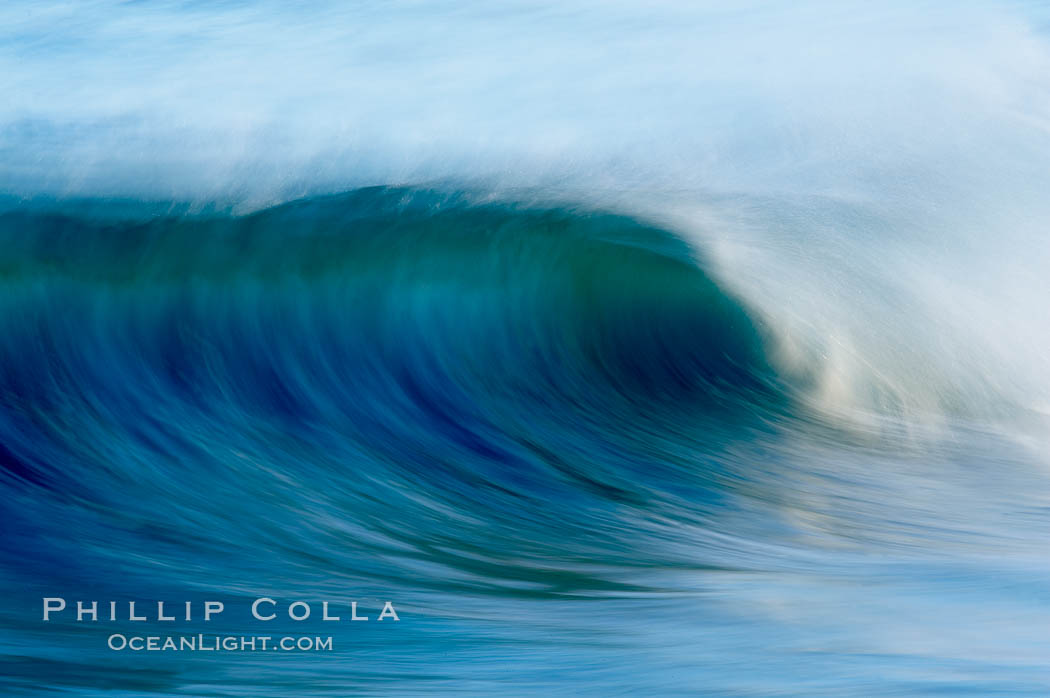 Breaking wave, fast motion and blur. The Wedge. The Wedge, Newport Beach, California, USA, natural history stock photograph, photo id 14366