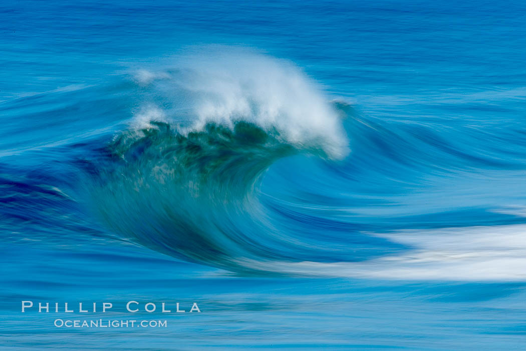 Breaking wave, fast motion and blur. The Wedge. The Wedge, Newport Beach, California, USA, natural history stock photograph, photo id 14360