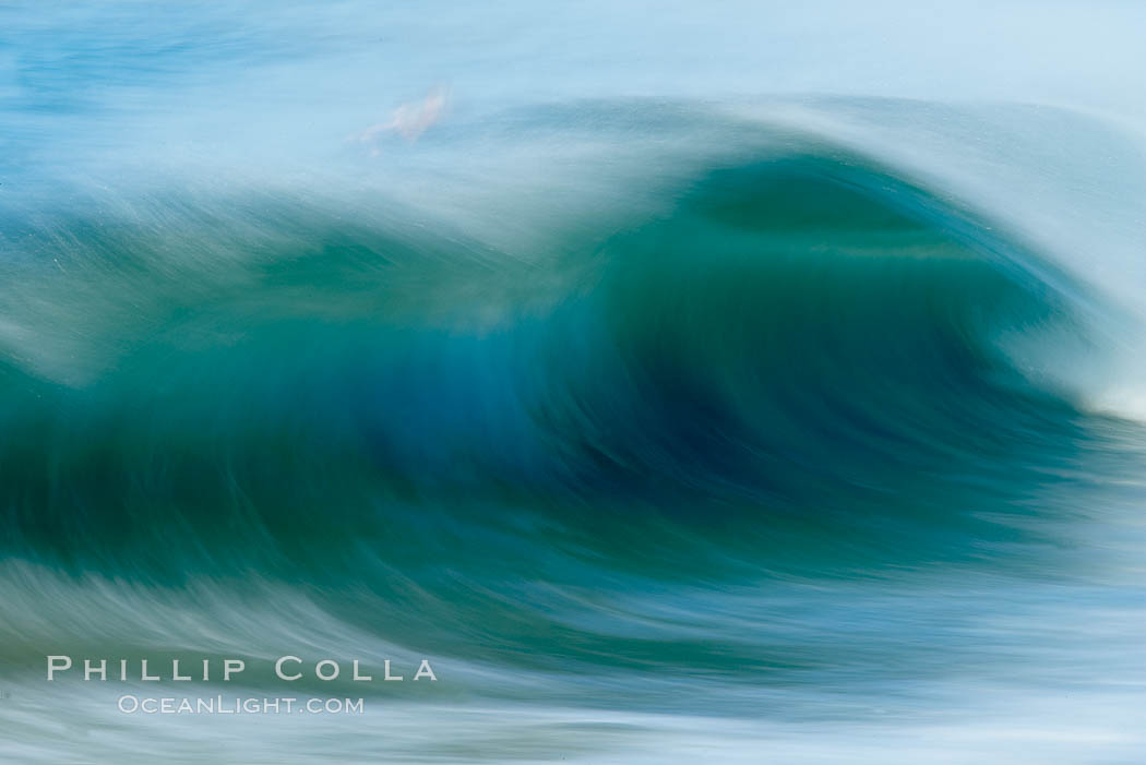 Breaking wave, fast motion and blur. The Wedge. The Wedge, Newport Beach, California, USA, natural history stock photograph, photo id 14359