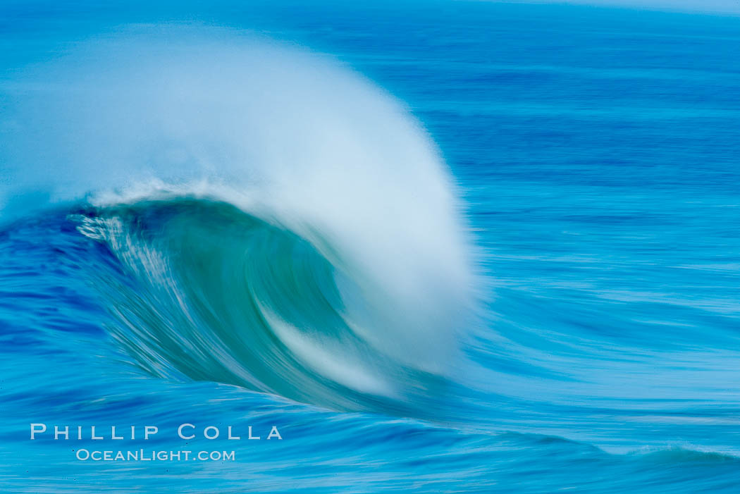 Breaking wave, fast motion and blur. The Wedge. The Wedge, Newport Beach, California, USA, natural history stock photograph, photo id 14357