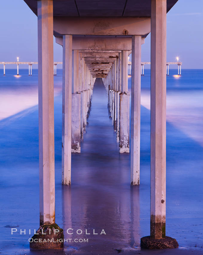Ocean Beach Pier, also known as the OB Pier or Ocean Beach Municipal Pier, is the longest concrete pier on the West Coast measuring 1971 feet (601 m) long. San Diego, California, USA, natural history stock photograph, photo id 27388