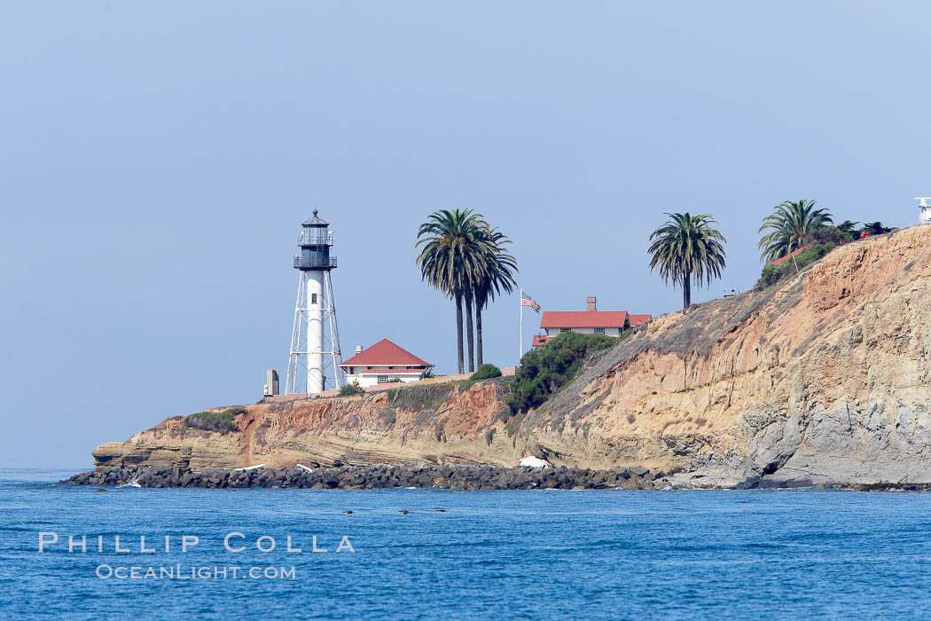 Point Loma lighthouse. San Diego, California, USA, natural history stock photograph, photo id 21486