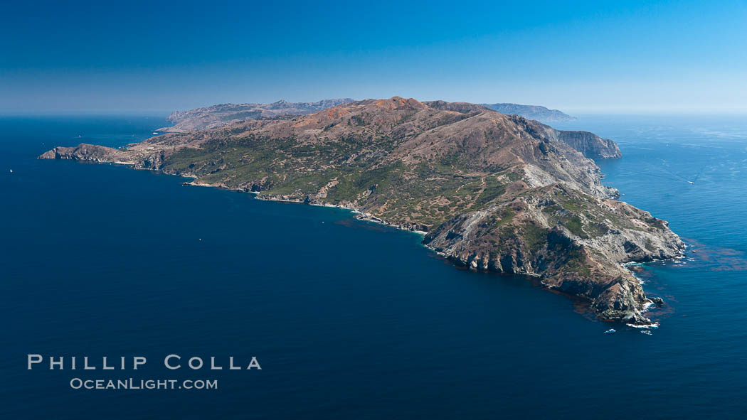 Catalina Island, West End. Catalina Island, California, USA, natural history stock photograph, photo id 25979