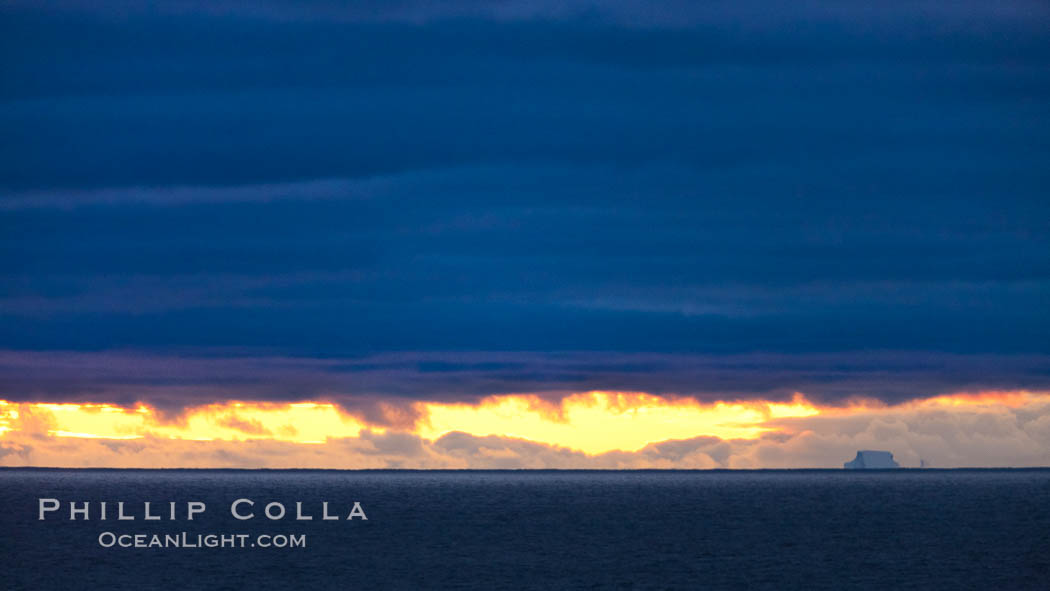 Clouds, weather and light mix in neverending forms over the open ocean of Scotia Sea, in the Southern Ocean., natural history stock photograph, photo id 24759