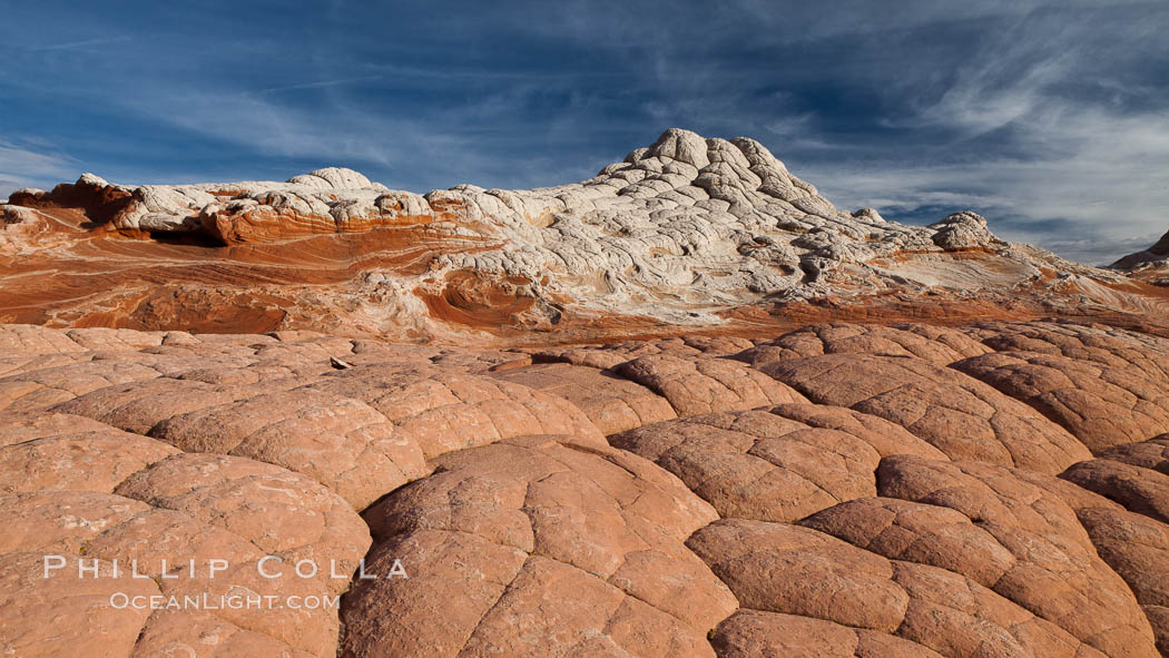 White Pocket, sandstone forms and colors are amazing. White Pocket, Vermillion Cliffs National Monument, Arizona, USA, natural history stock photograph, photo id 26660